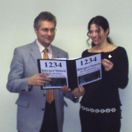 Carsten Bockhardt und Katharina Tomaschek