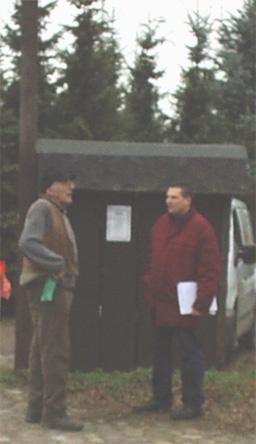 Tannen-Gesche und Dr. Steiner in Danewitz