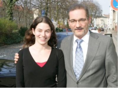 Katharina Tomaschek und Matthias Platzeck