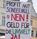 Plakat gegen Sondermüll
