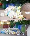 Illegale Abfallentsorgung in Finow