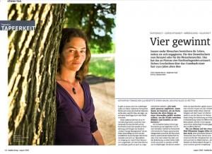 Katharina Tomaschek in healthy living | august 2008