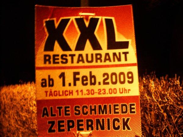 xxl restaurants coming soon die alte schmiede in. Black Bedroom Furniture Sets. Home Design Ideas