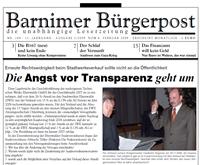 Barnimer Bürgerpost Februar 2009