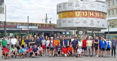 Startfoto der Radtour Berlin-Uckermark 2008