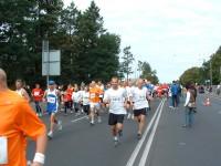 Startpfiff am baff: Wie auch in den letzten Jahren beginnen die Läufer am Freizeitbad Eberswalde.