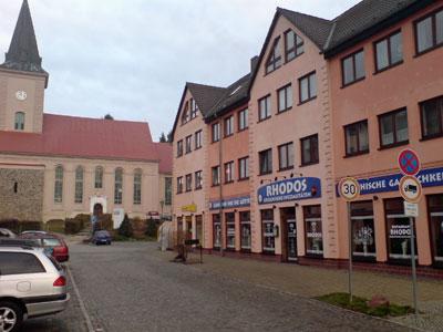 """Restaurant """"Rhodos"""" am Biesenthaler Markt"""