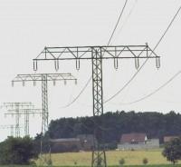 110-kV-Freileitung quert Senftenhütte