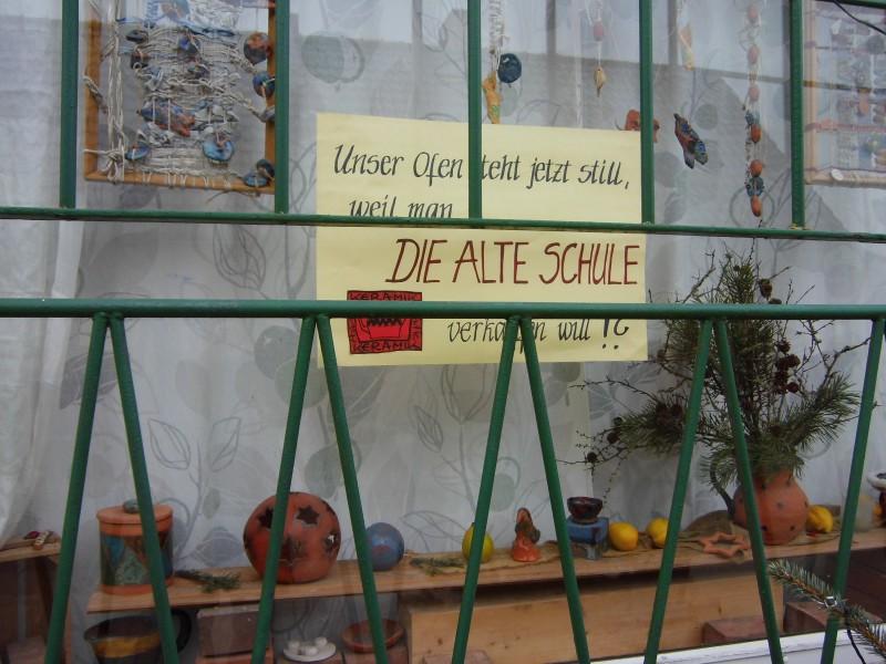 Protest in Senftenhütte